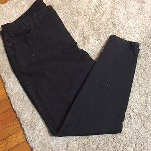 Jennifer Lopes Skinny Black Jeans